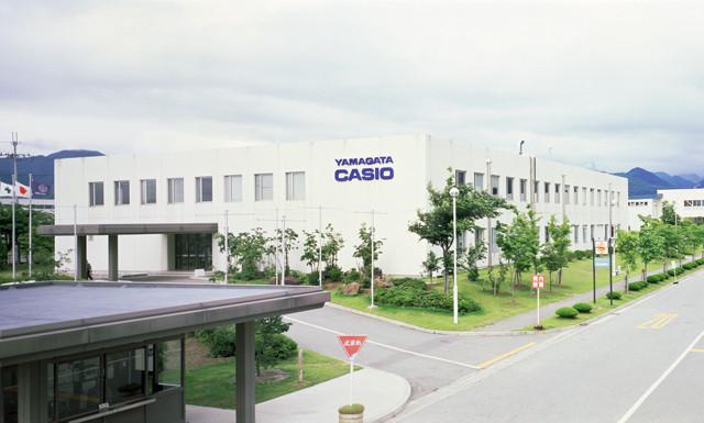 Casio óragyár Yamagatában, Japán