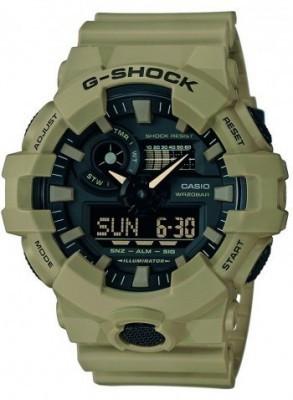 Casio G-Shock férfi karóra, GA-700UC-5AER, Sportos, Ana-digi, Műanyag