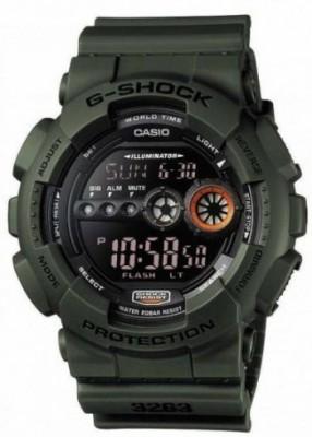 Casio G-Shock férfi karóra, GD-100MS-3ER, Sportos, Digitális, Műanyag