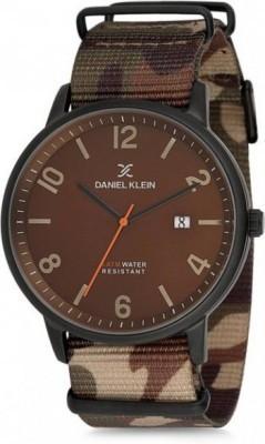 Daniel Klein Premium férfi karóra, DK11777-7, Sportos, Kvarc, Nato
