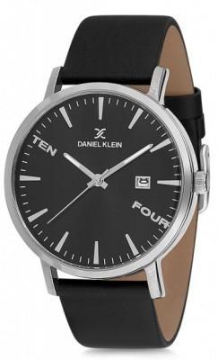 Daniel Klein Premium férfi karóra, DK11645-2, Divatos, Kvarc, Bőr