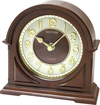 Rhythm asztali-kandalló óra, CRG109NR06, Kvarc