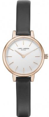 Lars Larsen Lykke női karóra, 145RWBLL, Elegáns, Kvarc, Bőr