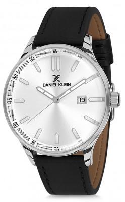 Daniel Klein Premium férfi karóra, DK11648-1, Klasszikus, Kvarc, Bőr