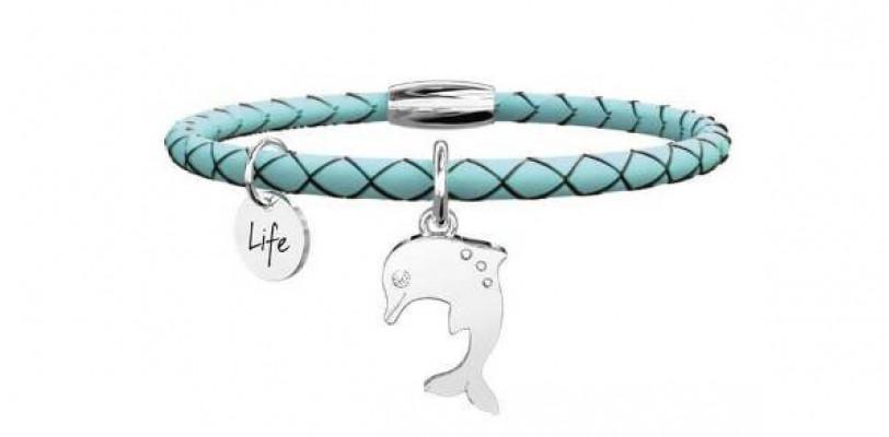 Kidult delfin női karkötő, 231523