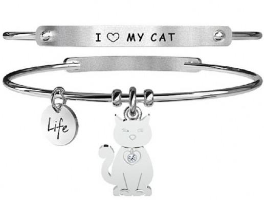 Kidult macska női karkötő, 231630