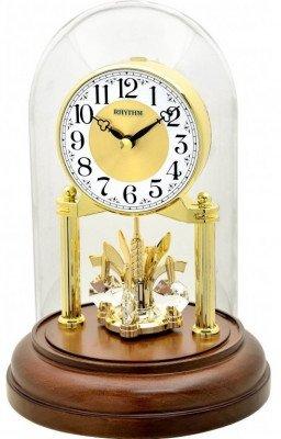 Rhythm forgóingás asztali-kandalló óra, CRG121NR06, Kvarc