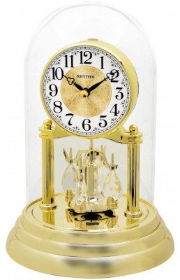 Rhythm forgóingás asztali-kandalló óra, CRG120NR18, Kvarc