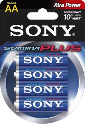 Sony Plus alkáli AA ceruzaelem 4db, AM3-B4D