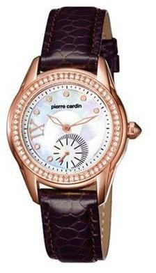 Pierre Cardin női karóra, PC-104262F02, Divatos, Kvarc, Bőr