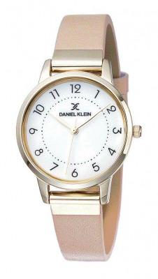 Daniel Klein Premium női karóra, DK11801-2, Divatos, Kvarc, Bőr