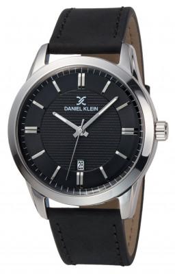 Daniel klein Premium férfi karóra, DK11844-2, Divatos, Kvarc, Bőr