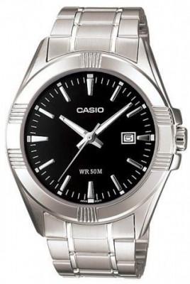 Casio Standard férfi karóra, MTP-1308PD-1AVEF, Klasszikus, Kvarc, Nemesacél
