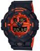 Casio G-Shock férfi karóra, GA-700BR-1AER, Sportos, Ana-digi, Műanyag