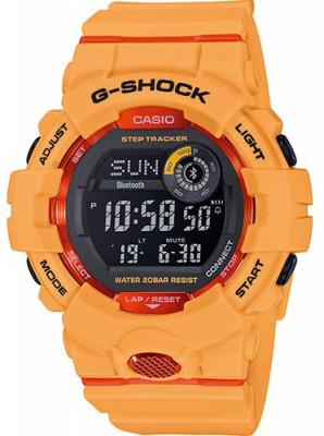 Casio G-Shock férfi karóra, GBD-800-4ER, Sportos, Digitális, Műanyag