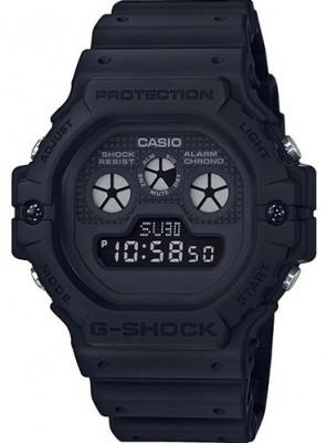 Casio G-Shock férfi karóra, DW-5900BB-1ER, Sportos, Digitális, Műanyag