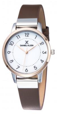 Daniel Klein Premium női karóra, DK11801-3, Divatos, Kvarc, Bőr
