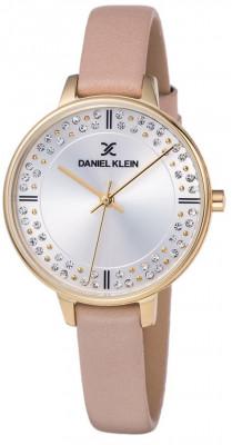 Daniel Klein Premium női karóra, DK11881-5, Divatos, Kvarc, Bőr