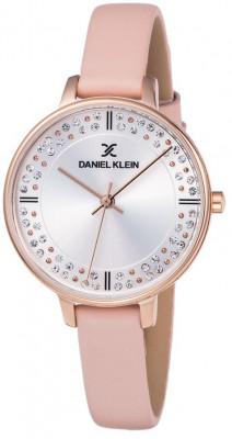 Daniel Klein Premium női karóra, DK11881-7, Divatos, Kvarc, Bőr