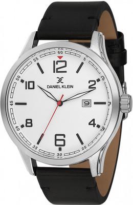 Daniel Klein Premium férfi karóra, DK11646-1, Divatos, Kvarc, Bőr