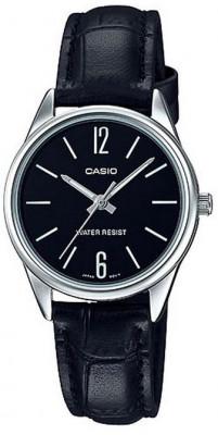Casio Standard női karóra, LTP-V005L-1BUDF, Klasszikus, Kvarc, Bőr