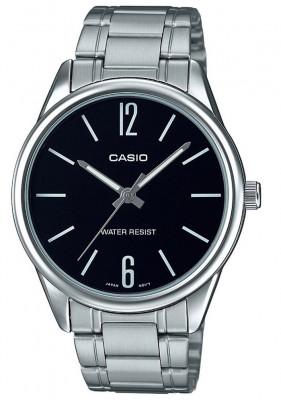 Casio Standard férfi karóra, MTP-V005D-1BUDF, Klasszikus, Kvarc, Acél