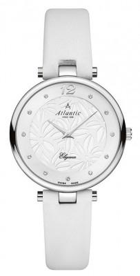 AtlanticElegance Floral női karóra, 29037.41.21L, Elegáns, Kvarc, Bőr