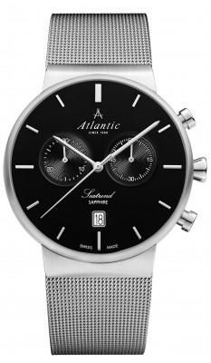 Atlantic  Seatrend Chronograph férfi karóra, 65457.41.61, Elegáns, Kvarc, Acél