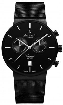 Atlantic  Seatrend Chronograph férfi karóra, 65457.46.61, Kvarc, Acél