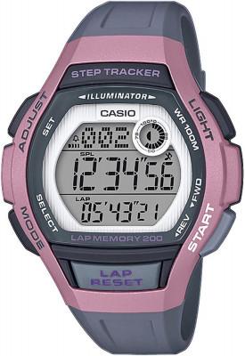 Casio Sport női karóra, LWS-2000H-4AVEF, Sportos, Digitális, Szilikon