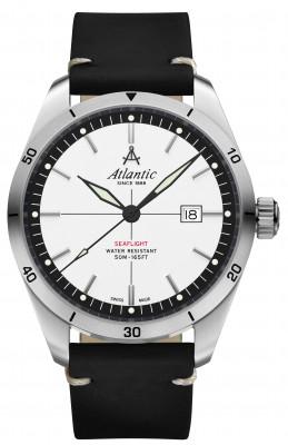 Atlantic Seaflight férfi karóra, 70351.41.11, Sportos, Kvarc, Bőr