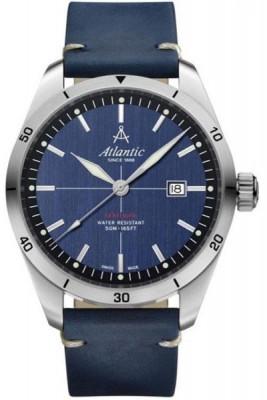 Atlantic Seaflight férfi karóra, 70351.41.51, Sportos, Kvarc, Bőr