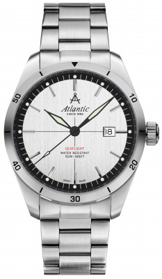 Atlantic Seaflight férfi karóra, 70356.41.21, Sportos, Kvarc, Nemesacél