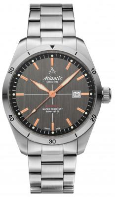 Atlantic Seaflight férfi karóra, 70356.41.41R, Sportos, Kvarc, Acél