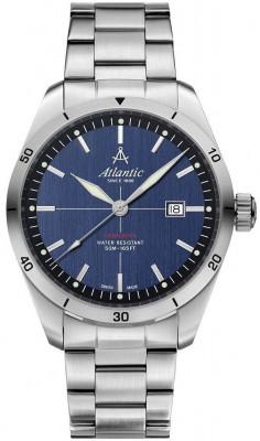 Atlantic Seaflight férfi karóra, 70356.41.51, Sportos, Kvarc, Nemesacél