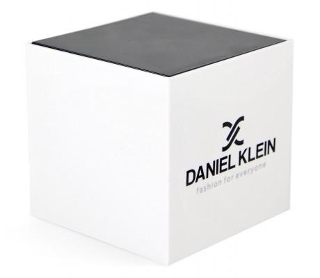 Daniel Klein Exclusive férfi karóra, DK12035A-2, Divatos, Kvarc, Bőr