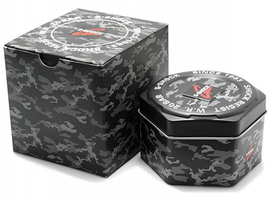 Casio G-Shock Camuflage férfi karóra, GD-120CM-8, Sportos, Kvarc, Műanyag