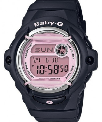 Casio Baby-G női karóra, BG-169M-1ER, Sportos, Digitális, Műanyag