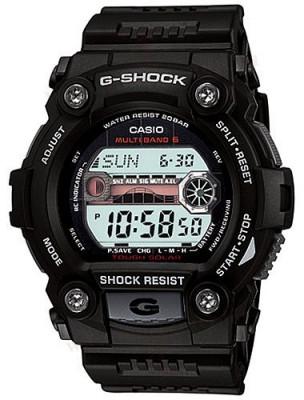 Casio G-Shock férfi karóra, GW-7900-1ER, Sportos, Rádióvezérelt, Műanyag
