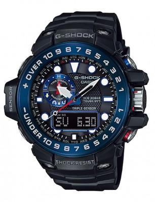 Casio G-shock Gulfmaster férfi karóra, GWN-1000B-1BER, Sportos, Kvarc, Műanyag