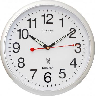 City Time rádióvezérelt falióra, WCRD30001-S, Rádióvezérelt
