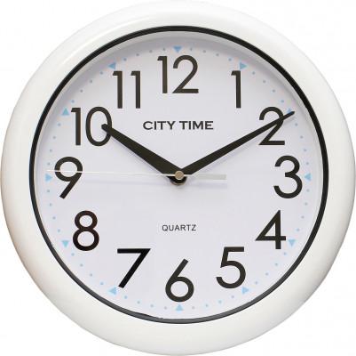 City Time fürdőszobai falióra, WC28008-W, Kvarc