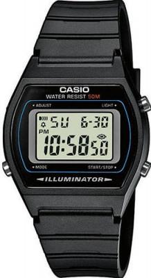 Casio Retro unisex karóra, W-202-1AVEF, Sportos, Digitális, Szilikon