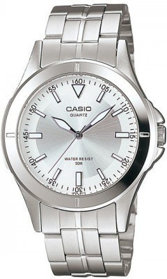 Casio Standard férfi karóra, MTP-1214A-7A, Klasszikus, Kvarc, Acél