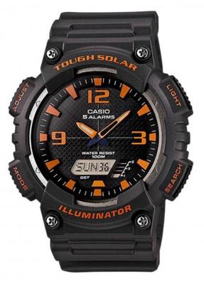 Casio Tough Solar férfi karóra, AQ-S810W-8AVDF, Sportos, Ana-digi, Műanyag