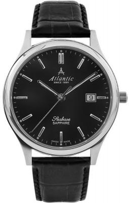Atlantic Seabase férfi karóra, 60342.41.61, Klasszikus, Kvarc, Bőr