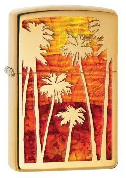 Zippo Fuzion Palm Tree Sunset öngyújtó, 29420
