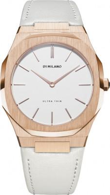 D1 Milano Ultra Thin női karóra, UTLL02, Divatos, Kvarc, Bőr