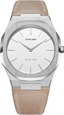 D1 Milano Ultra Thin női karóra, UTLL04, Divatos, Kvarc, Bőr