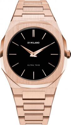 D1 Milano Ultra Thin férfi karóra, A-UTB03, Divatos, Kvarc, Nemesacél